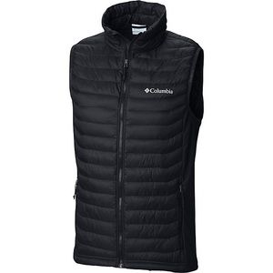Columbia Mens Black Lite Puffy Vest Jacket
